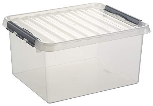 Helit H6160502 Sunware Box mit Griff, 36 L