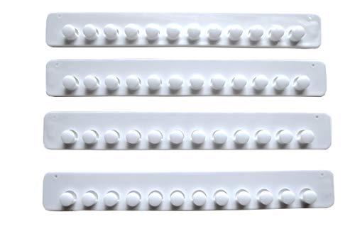Little Capricorn Necklace Hanger Jewelry Organizer 4 Pack