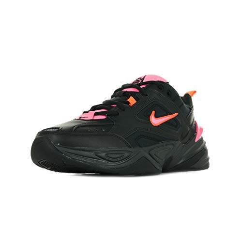 Nike M2K Tekno, Zapatillas de Running para Hombre, Multicolor (Black/Sunset Pulse/Off Noir 8), 41 EU