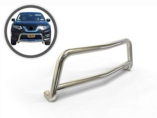 VANGUARD Stainless Steel Wide Sport Bar | Compatible with 08-19 Nissan Rogue / 14-15 Nissan Rogue Select