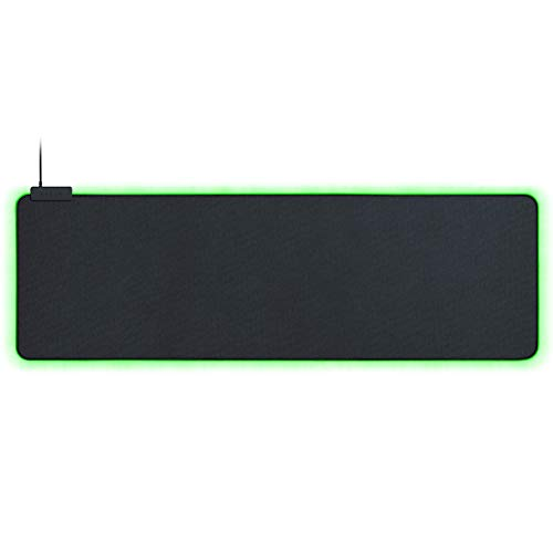 Razer Goliathus Extended Chroma Gaming Mousepad: Customizable Chroma RGB Lighting, Soft, Cloth Material, Balanced Control & Speed, Non-Slip Rubber Base, Classic Black
