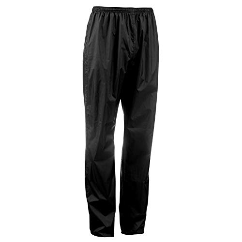 Quechua Men's Raincut Waterproof Hiking Over-Trousers Black (W41 L34)