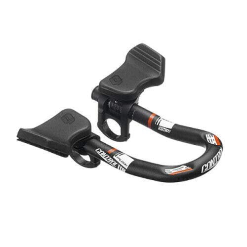 Control Tech TTH-14 Falcon Mini Clip-On Fiets Aerobars voor TT/Triathlon, Rood, ST1846