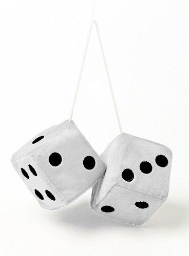 Sumex JUMBO30 Große Plüschwürfel, , Weiß9 x 9cm