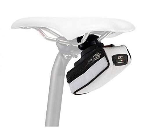 Sci-Con Elan 210 RL - Bolsa portacámara de Ciclismo, Color Blanco