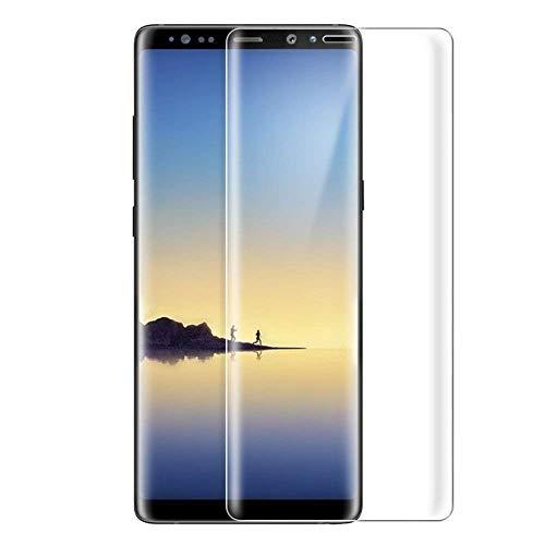 Samsung Galaxy Note9 ガラスフィルム Samsung ギャラクシー Note9 フィルム 専用 3D曲面 フルカバー フィルム 液晶保護フィルム 保護フィルム 全面保護 極高透過率 強化ガラス