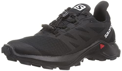SALOMON Shoes Supercross 3, Zapatillas de Trail Running Mujer, Black/Black/Black, 41 1/3 EU