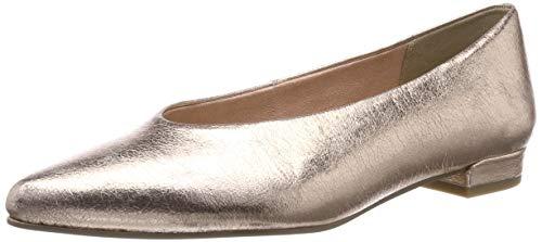 MARCO TOZZI Damen 2-2-22201-32 Geschlossene Ballerinas, Pink (Rose Metallic 592), 38 EU
