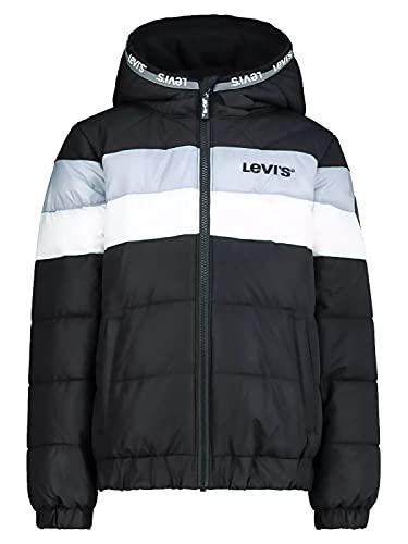 Levi's Kids Veste Garçon -Lvn Colorblock Jacket Black 14 ans