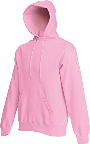 Fruit of the Loom Hooded Sweat Rose/Light Pink - L