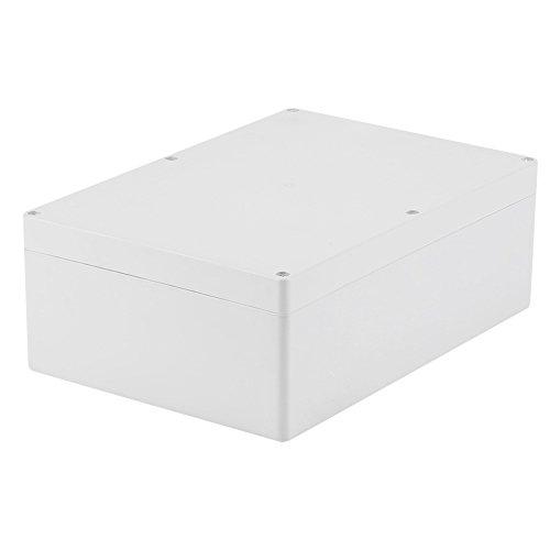 Akozon Caja de empalmes exterior, caja de conexiones impermeable IP67 263 * 185 * 95 mm.