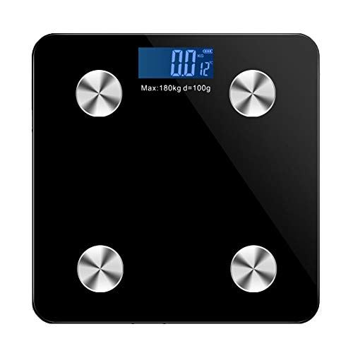 Review Caige Bluetooth Smart Scale, Digital Body Fat Weight Scale, Body Composition & Weight Measure...