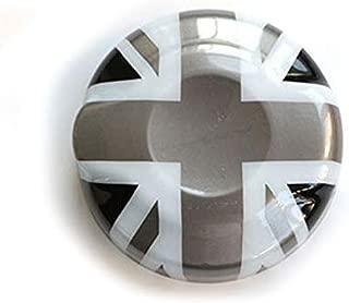 YaaGoo for Mini Cooper F55 F56 Car Styling Accessories Fuel Tank Cap Cover Decoration (Grey Jack)