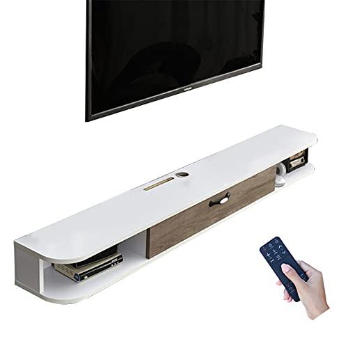 Bxzzj Mueble Decodificador con Soporte TV, Consola De Mueble TV, Centro De Entretenimiento De 39,3/47,2 Pulgadas (Color : C, Size : 100CM)