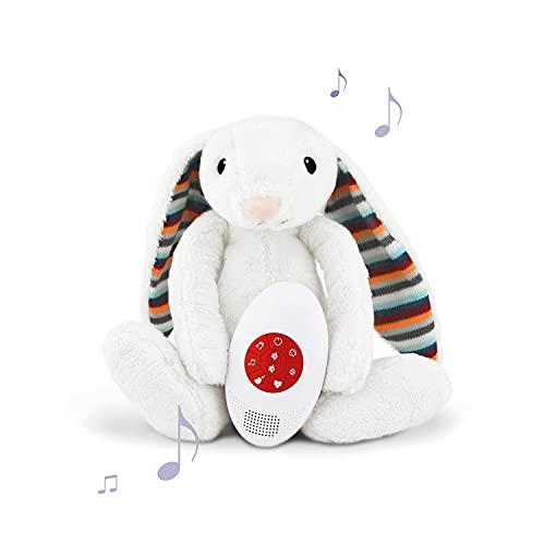 Zazu Peluche musical con sonido de latido, BIBI The Bunny, gris