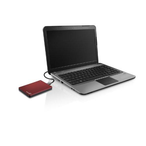 "『Seagate Backup Plus Portable 1TB HDD 【2018モデル】バックアップソフト付 2.5"" 外付 電源不要 Mac PS4対応 3年保証 赤 STDR1000303』の6枚目の画像"