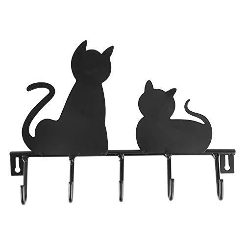 OUNONA Ganci Appendiabiti di Ferro Ganci Portachiavi Ganci Multifunzione (Gatti)