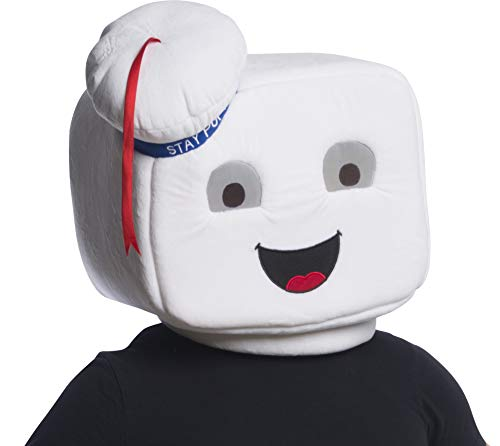 Rubie's unisex adults Ghostbusters Stay Puft Oversized Plush Costume Mask, As Shown, One Size US