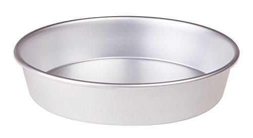 Pentole Agnelli, FAMA43/624, Tortiera Conica con Orlo, Alluminio, 24 X 24 X 6 cm