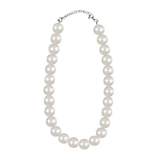 Boland 64308 Marilyn Collier de Perles Blanc