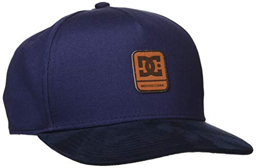 DC Shoes Jungen Cap Brackers - Snapback-Kappe für Jungen 8-16, Black Iris, 1SZ, ADBHA03128