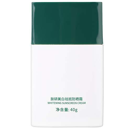 Changor Protector Solar, Respirable Crema Isla Paraíso Protector Solar Efecto Protección de la Piel Ingredientes por Sol Proteccion