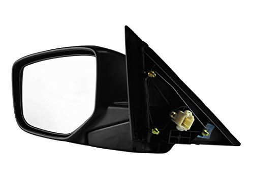 Driver Side Side View Mirror - Unpainted, Heated, Power Operated, Manual Folding, Side View Mirror for (2008,2009,2010,2011,2012) Honda Accord - Parts Link #: HO1320231