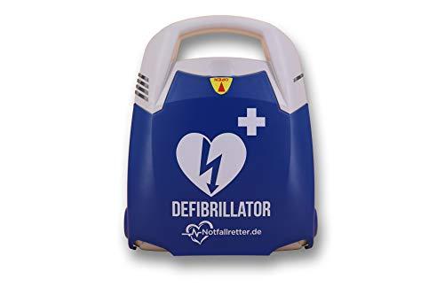 Notfallretter Defibrillator AED Basic mit vollautomatischer Schockauslösung und Vollausstattung