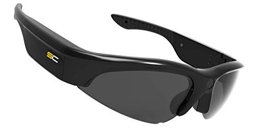 Sunnycam Active Edition SCACT0301 zonnebril + 1080p camera 90 graden gezichtsveld UV400 gepolariseerd, 1 uur batterij tot 64 GB microSD-kaart