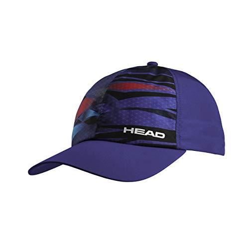 HEAD Unisex-Erwachsene Light Function Cap Tennis, blau/Navy, Einheitsgröße