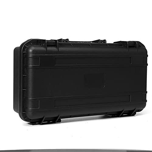 Caja de herramientas de instrumentos de seguridad protectora Impermeable Herramientas a prueba de choques Caja de herramientas sellada Maleta resistente al impacto con esponja (Color : A)