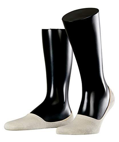 ESPRIT Herren Füßlinge Basic Uni 2-Pack - Baumwollmischung, 2 Paar, Versch. Farben, Größe 39-50 - Anti-Slip System im Fersenbereich