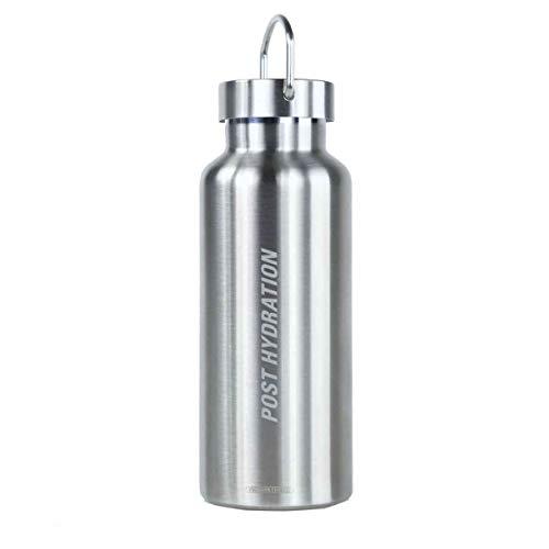 LEZYNE Classic Stainless Bottle - Bidón para Bicicleta o Ciclismo, isotérmico, Acero Inoxidable, Unisex, Talla única (Talla del Fabricante: Talla única)