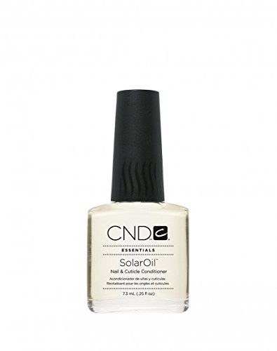 CND Essential Solar Oil Nail and Cuticle Conditioner, 0.25 Fluid Ounce by CND [Beauty] (English Manual)