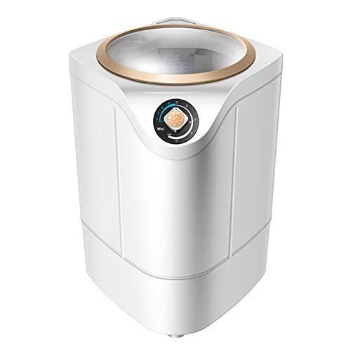 Mini machine à laver portable semi-automatique, élution d'une capacité de lavage de 4,8 kg Violet antibactérienne, ultra-silencieuse, adaptée au camping-car, chambre à coucher, dortoir, balcon