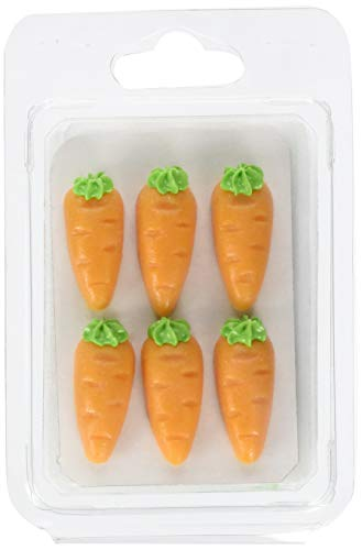 Cake Company Karotten Rübli Marzipan 1 Packung, 12 Stück (1 x 53 g)