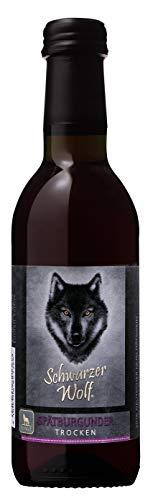 Wolfenweiler 2018er Schwarzer Wolf, Spätburgunder Rotwein QbA trocken (1 x 0.25 l)