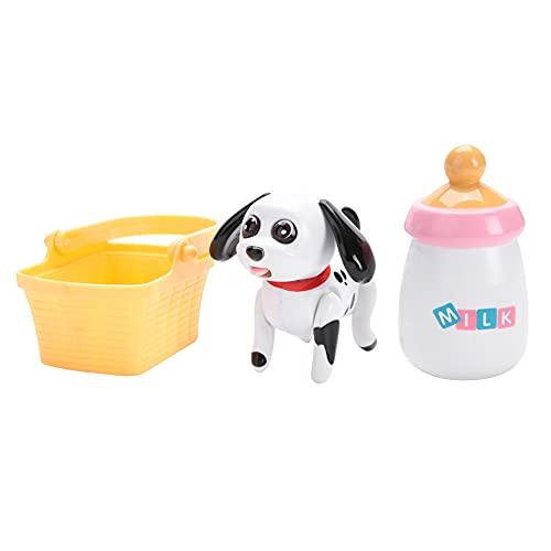 Nuobi Juguete de la Leche de succión del Animal doméstico del bebé, Juguete de alimentación Educativo temprano, inducción interactiva para niños(Dalmatian)
