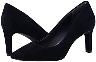 Rockport(ロックポート) レディース 女性用 シューズ 靴 ヒール アンクル Total Motion Luxe Valerie Pump - Black Suede [並行輸入品]