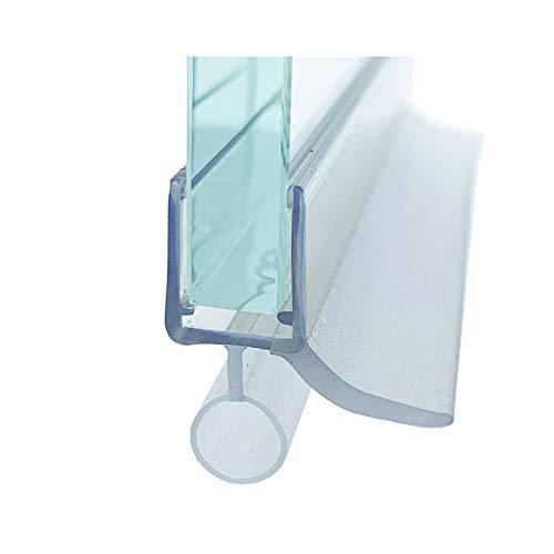 Glass House Joint d'étanchéité pour cabine de douche. Joint d'étanchéité pour verre 6 mm - 8 mm Longueur 100 cm,en silicone de la plus haute qualité. GH-UO14+