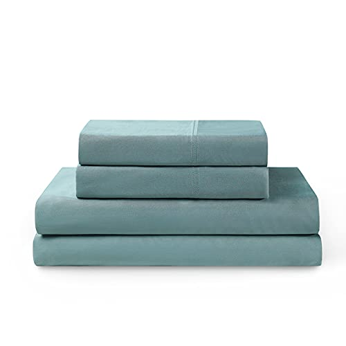 YNM 100% Bamboo Sheet Set - Cooling and Silky-soft 400TC Bamboo Fabric, 4-Piece Set Includes Flat...