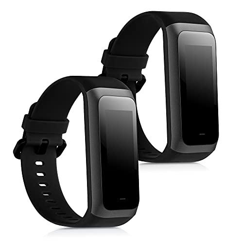 kwmobile Armband kompatibel mit Huami Amazfit COR 2 / Amazfit Band 2-2X Silikon Fitnesstracker Sportarmband