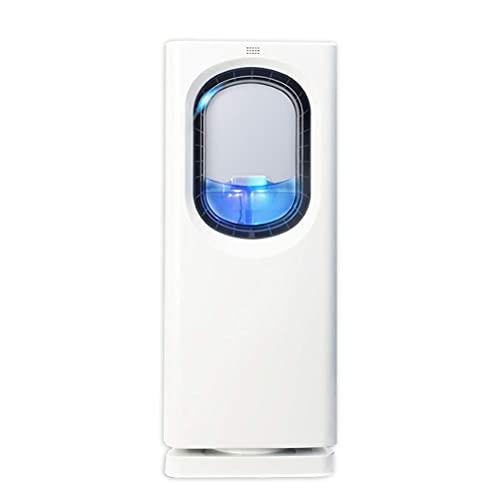 Refrigerador de aire portátil de 65W con control remoto, refrigerador de evaporación de ventilador eléctrico sin incapulezas, ajuste de 3 pasos Temporizador de 8 horas para dormitorio en el hogar Enfr