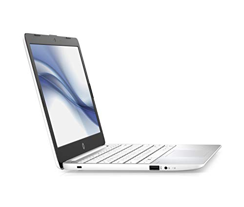 HP Stream 11-ak0099ng / 11-ak0011ng (11,6 Zoll / HD) Laptop (Intel Celeron N4000 dual, 4GB DDR4 RAM, 64GB eMMC, Intel UHD-Grafik 600, Windows 10 inkl. Microsoft Office 365 Personal) weiß