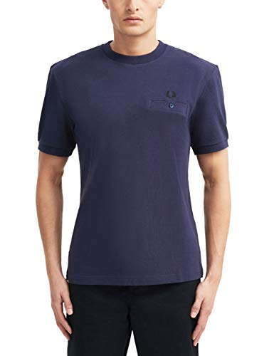 Fred Perry Pocket Detail Pique Shirt, Camiseta - M