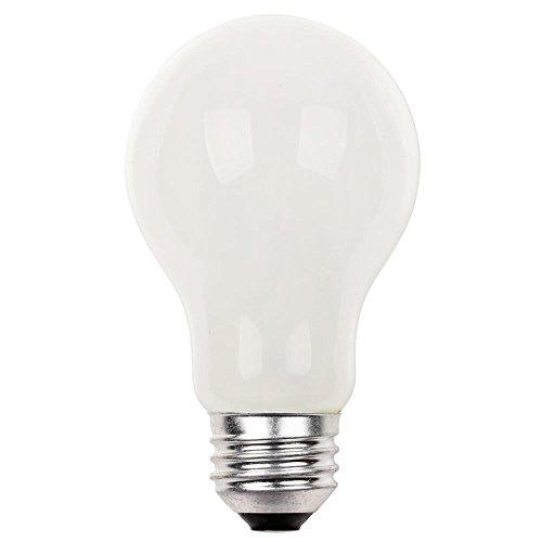 Westinghouse 0510500halógena tipo suave color blanco 72W A19bombilla de luz con base de tamaño mediano (12unidades)