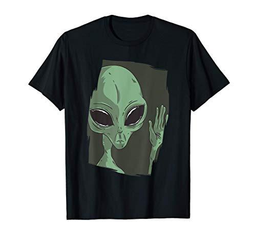 Waving Alien Camiseta