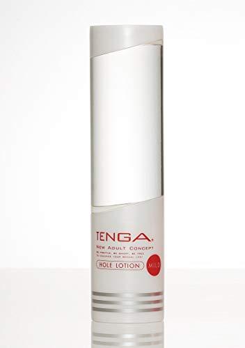 TENGA Hole Lotion Gleitmittel auf Wasserbasis für Sexspielzeuge - Mild (Klebrig), 170 ml