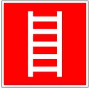 0391. Ladder D-F004 - Folie BRANDSBESCHERMING LNL