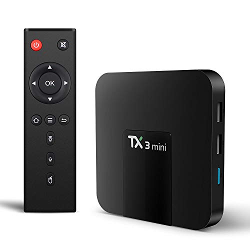 TX3 Mini Android 8.1 TV Box 4K TV Amlogic S905W Quad core H.265 Decoding 2.4GHz WiFi TV Box - 2GB/16GB